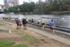 Putting onto the Yarra